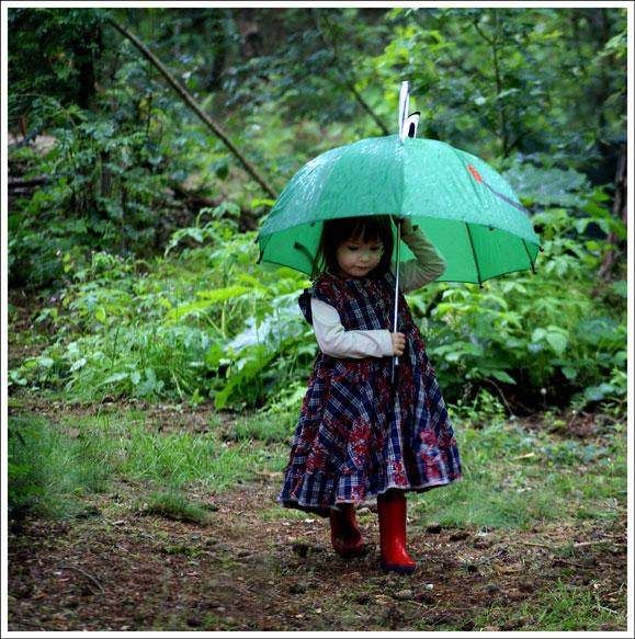 Regen is niet altijd erg -