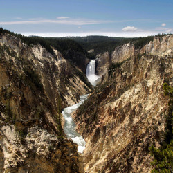 Artist Fall Yellowstone park
