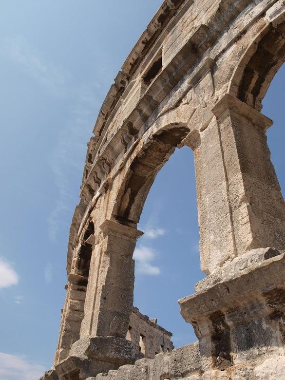 Amfitheater Pula - Romeins amfitheater in Pula, Kroatië