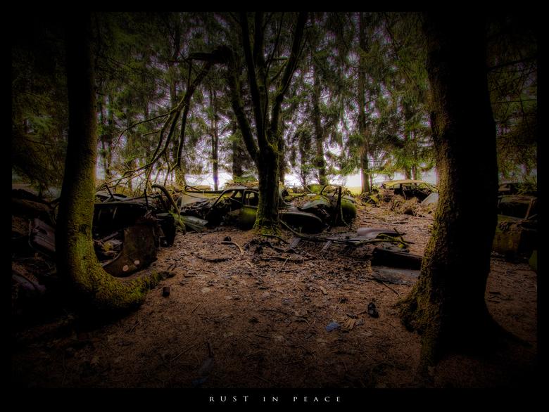 pEACE nO mORE - het tragische nieuws heeft ons bereikt,...de rust is verdwenen,..na jarenlang vredig te hebben gelegen in een bos op een welbekende pl