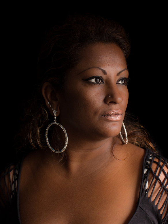 brown beauty - portret met daglicht