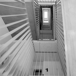 Groningen, trappenhuis (2)