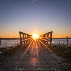 Doorkijkje naar de zon