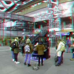 Centraal Station Den Haag 3D Gopro