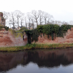Panorama ruïne Batenburg