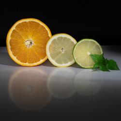 schijfjes fruit