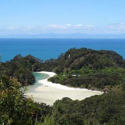 Abel Tasman Nationaal park, NZ