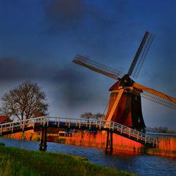 Een oude molen