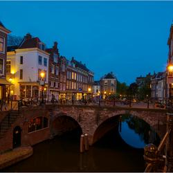 Utrecht bij Nacht.