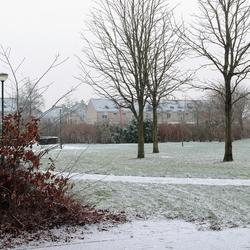 De eerste sneeuw van 2013