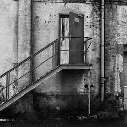 Trap buitenkant Oude Suikerfabriek Groningen