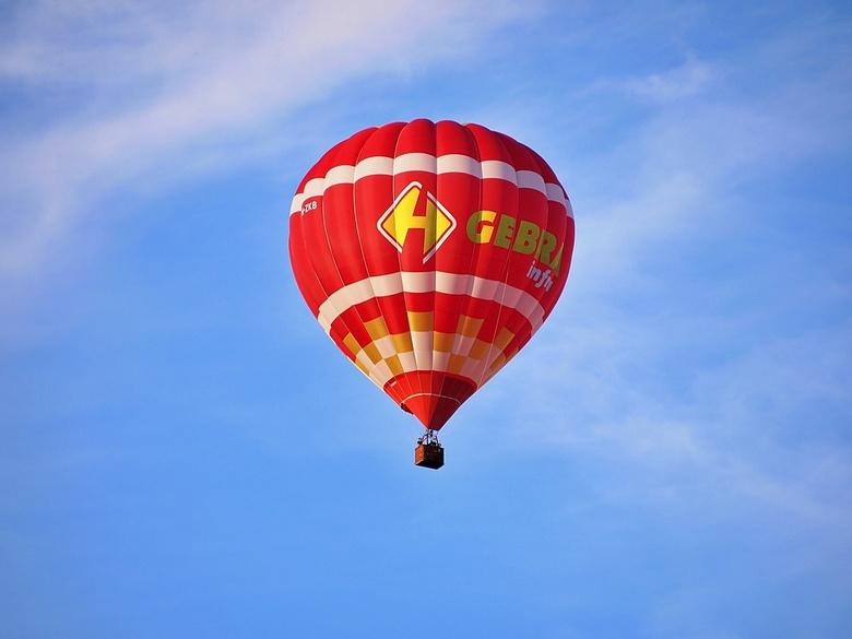 in de lucht - luchtballon