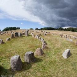 Lindholm Høje vikinggraven
