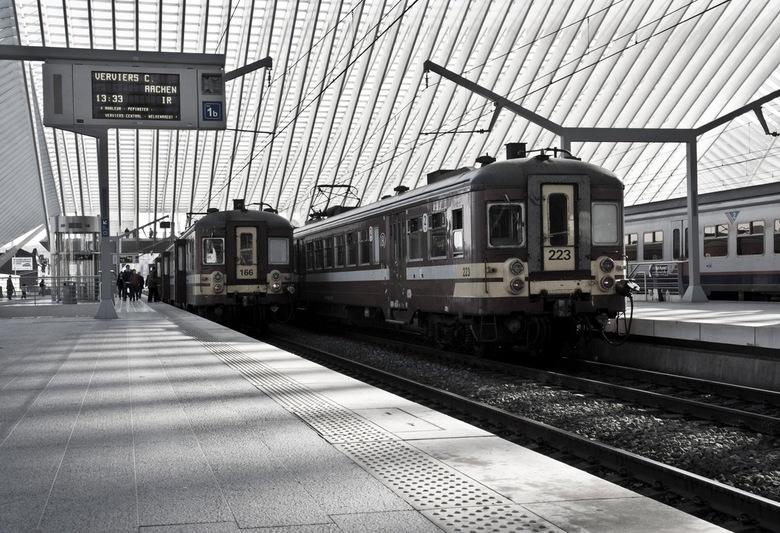 Luik-Verviers-Aachen - All on board..