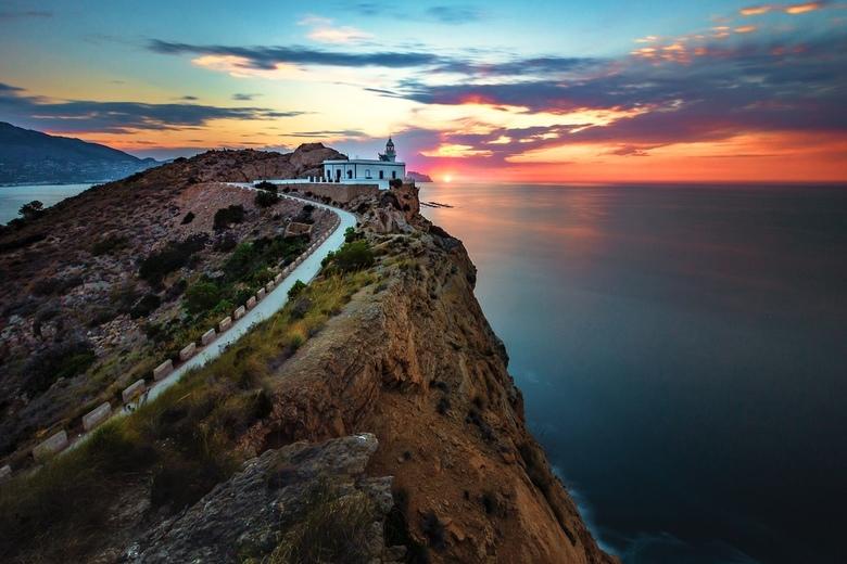Faro de L'Albir - Volop genoten van dit geweldige uitzicht met een prachtige zonsopkomst.....<br /> L'Albir Spanje.