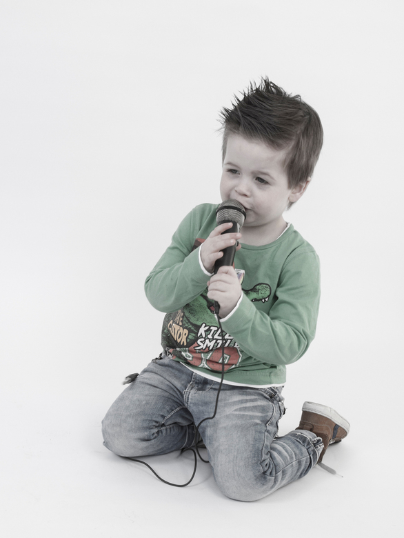 Talent - Jordy onze kleinzoon