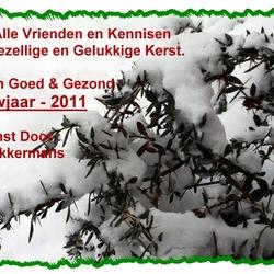 Fijne Kerst en Nieuwjaar