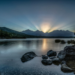 Lake Manapouri - Nieuw Zeeland