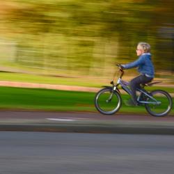 snel naar school fietsen