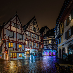 Colmar at Night