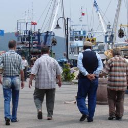Vier op de pier