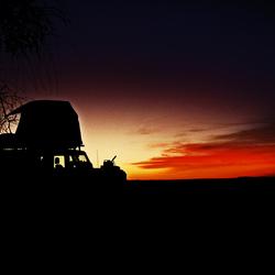 Overnachting in de Sahara