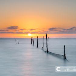 De rust van het IJsselmeer