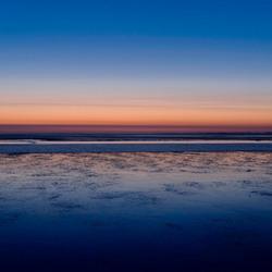 - Low tide -