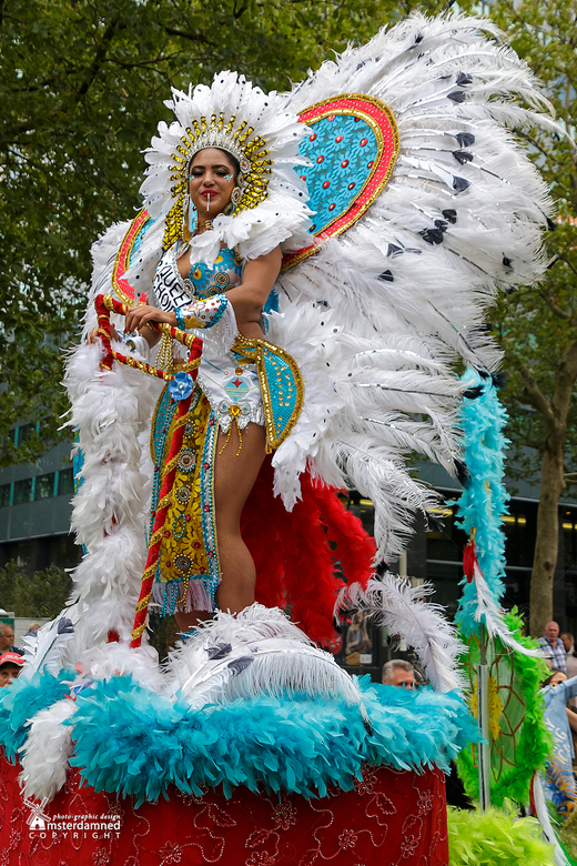Zomercarnaval Rotterdam 2019 - Zomercarnaval Rotterdam 2019.<br /> Al jaren doet de dansgroep People's Choice mee met dit jaar Svetlaine van Trigt al