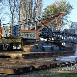 P1040715   Liebherr crane in opbouwfase 8nov 2018