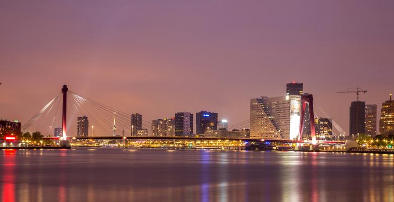 Rotterdam - Rotterdam in de nacht