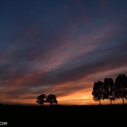 Fantastische zonsondergang!