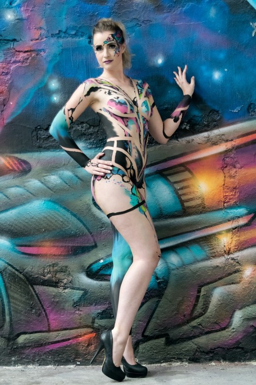 My first bodypaint(shoot) #1
