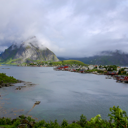 Lofoten in Noorwegen