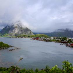 Lofoten in Noorwegen