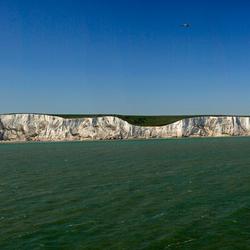 Kust bij Dover - Panorama