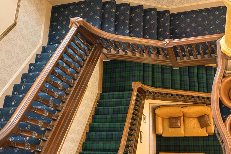 Schotland 22 - Hotel trappen.
