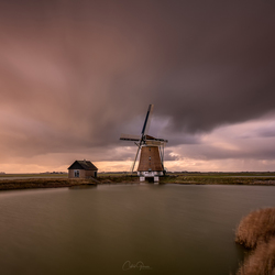 A stormy autumn in the Netherlands