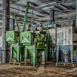 Urbex verlaten fabriek 2