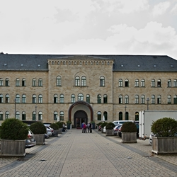 Schlosshotel in Blankenburg.