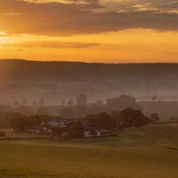 Uitzicht op Diependal (Zuid-Limburg)