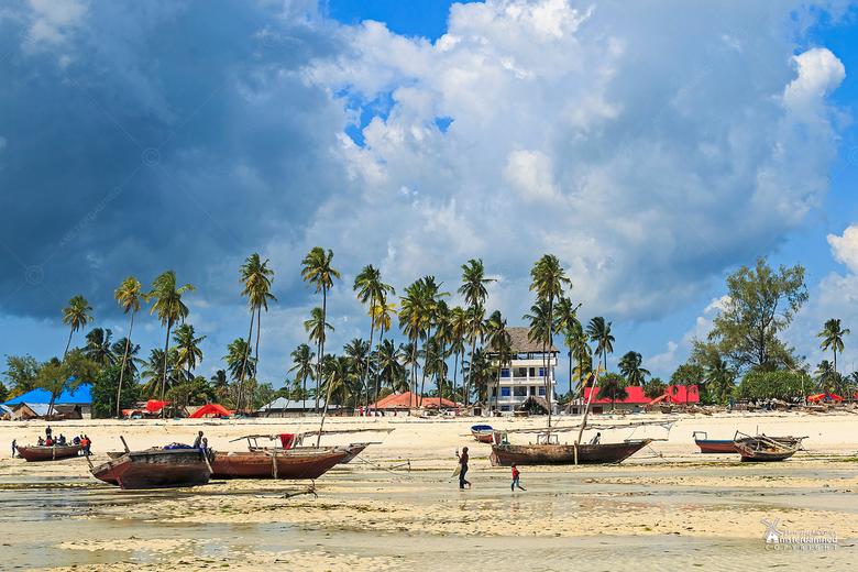Zanzibar - Een klein vissersdorpje op Zanzibar eiland in Tanzania.