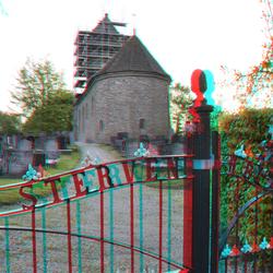 3D foto van de Vituskerk bij ons in de buurt