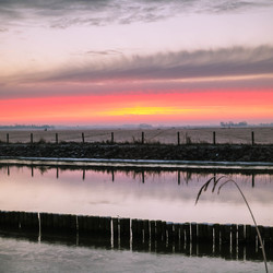 Verbijsterende zonsopkomst
