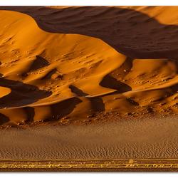 'Dune Wall in Sunlight'