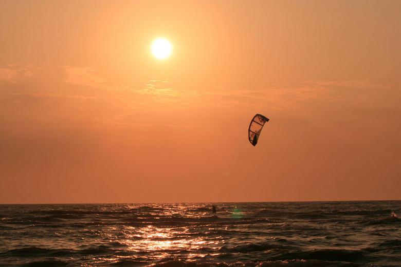 Kitesurfin - Deze foto heb ik gemaakt vlak na de zoomexperience workshop basistehnieken.