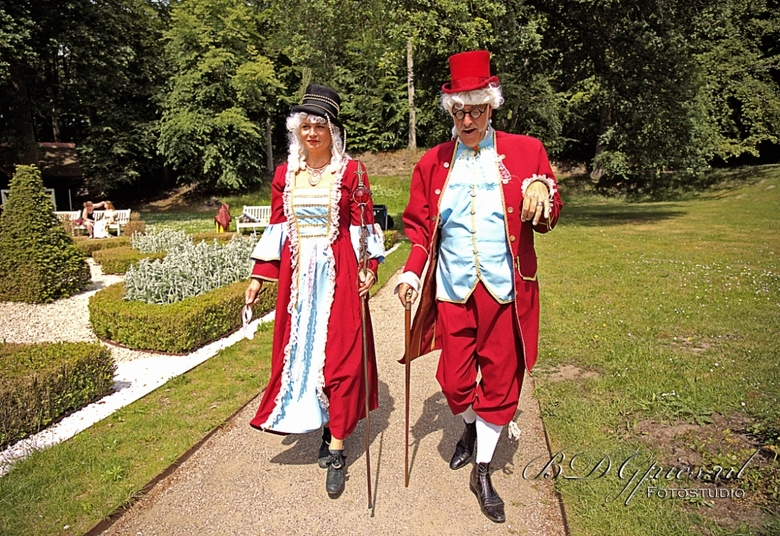 Herman en Susan - Barok-rococoshoot 2019 Clingendael.