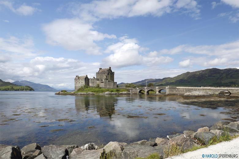 Eilean Donan Castle - Nog een foto van het Eilean Donan Castle gemaakt tijdens mijn vakantie deze zomer in Schotland. Ik heb zoveel mooie panoramashot