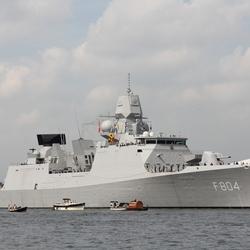ZR MS De Ruyter tijdens SAIL IN 2015