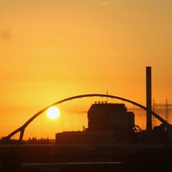 Sunset in Nijmegen